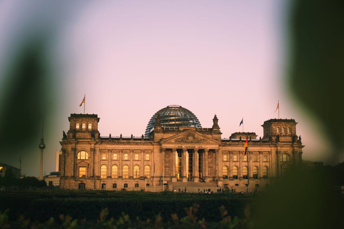 Things to do in Berlin: German Parliament Building