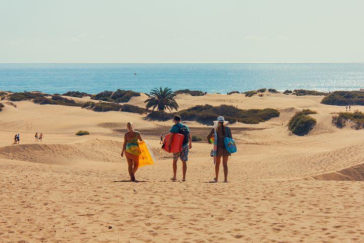 Mi experiencia como Worldpacker en Las Palmas de Gran Canarias, España - surfear en gran canarias
