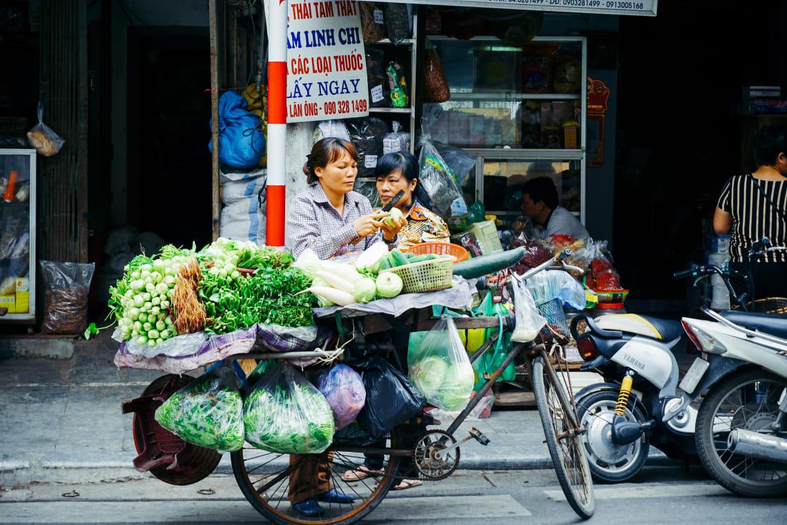 Local market, Vietnam