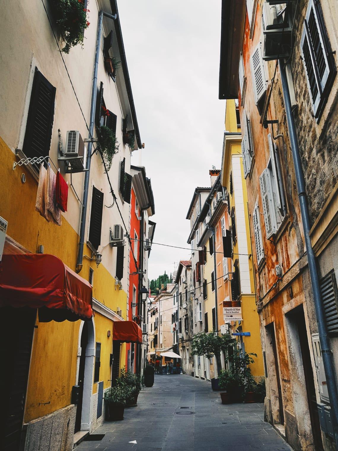Grudnova ulica 1, Piran, Slovenia