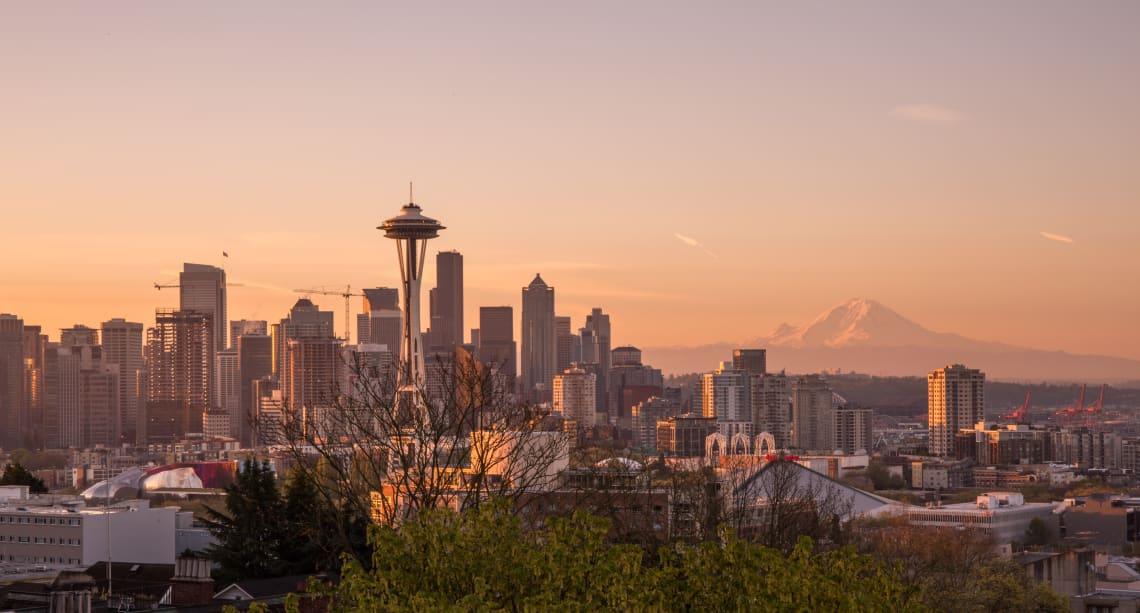 Seattle, Washington space needle