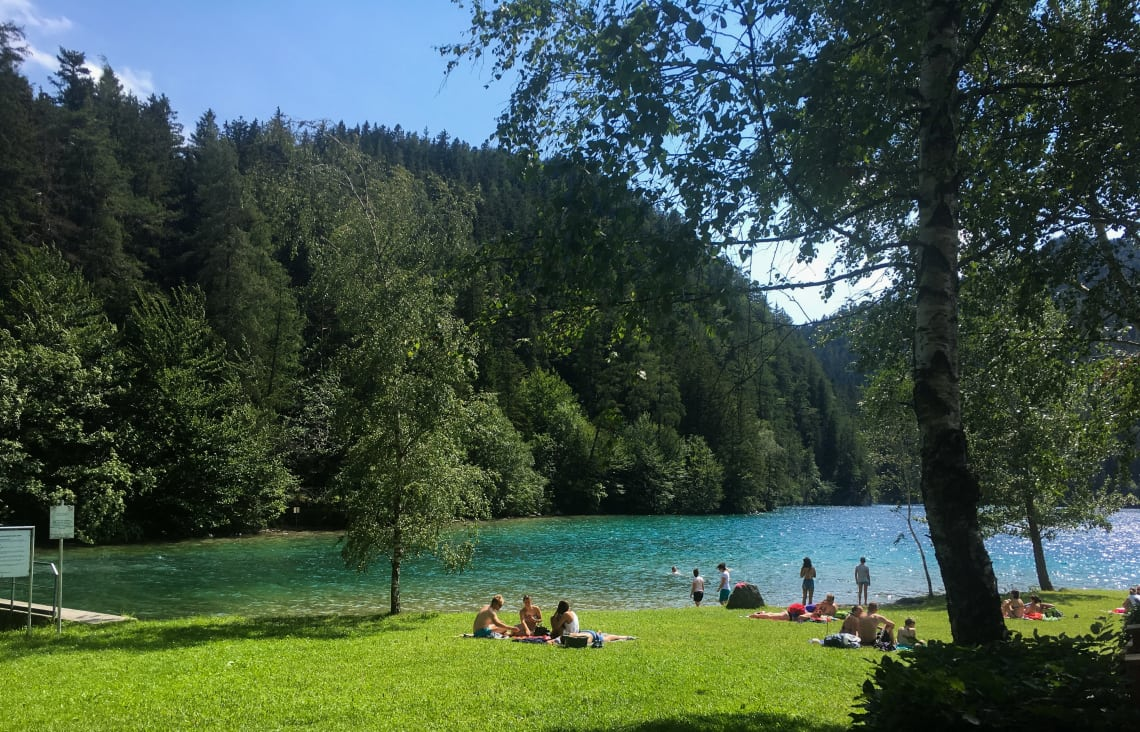 Lago Hintersteiner See, Áustria