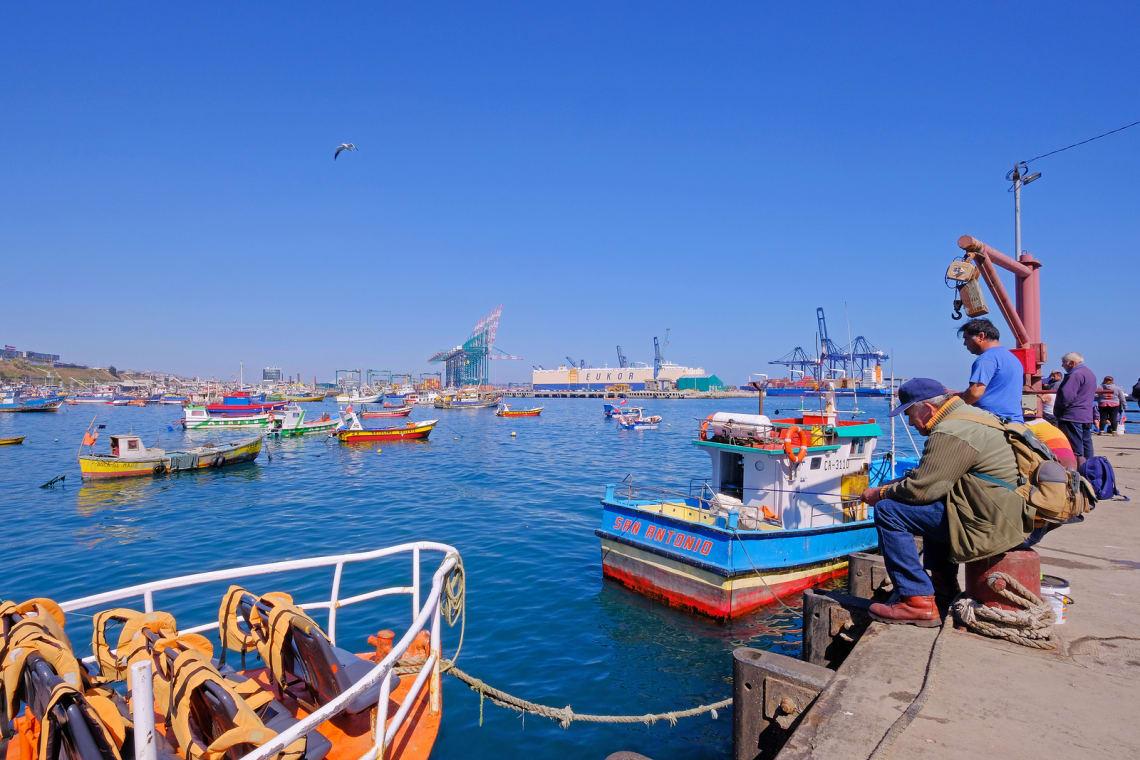 porto de valparaiso, chile