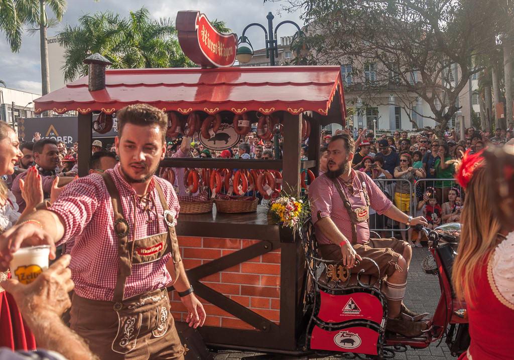 No Sul também existem festas populares brasileiras