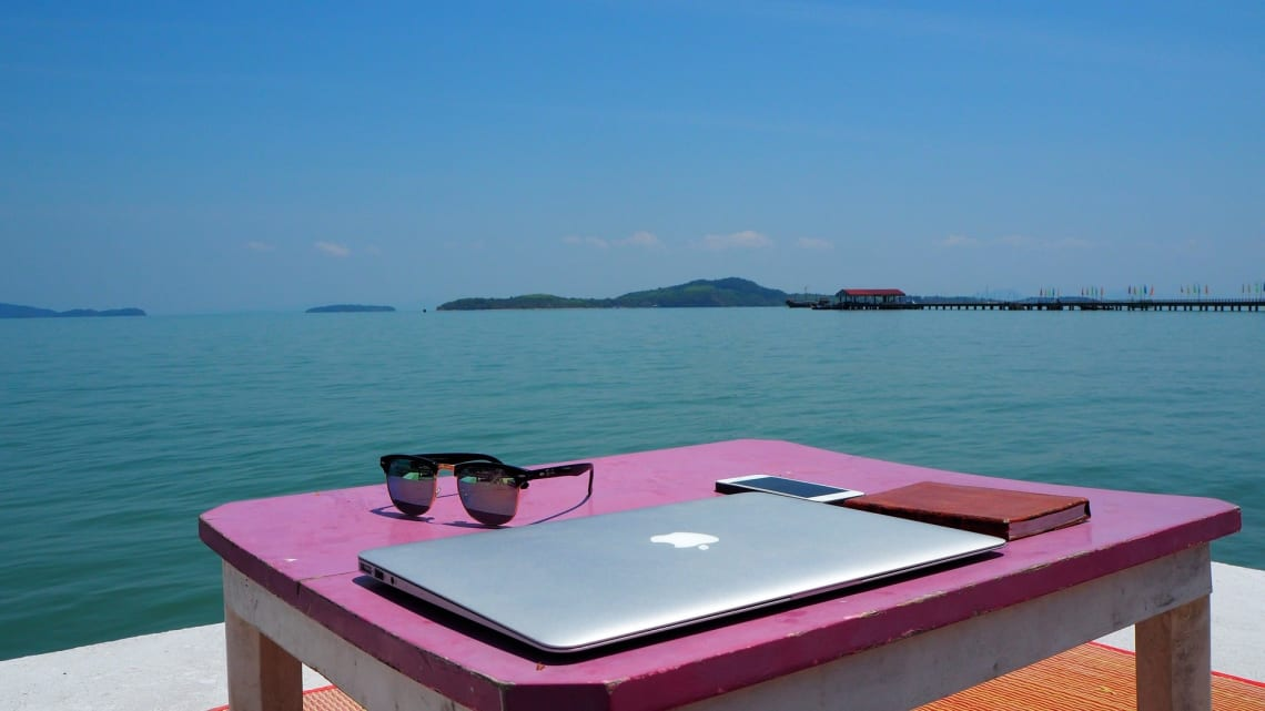 Working from anywhere as a digital nomad