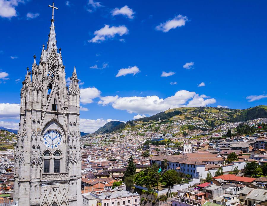 Lista de cidades na América do Sul que são boas e baratas para os nômades digitais: Quito