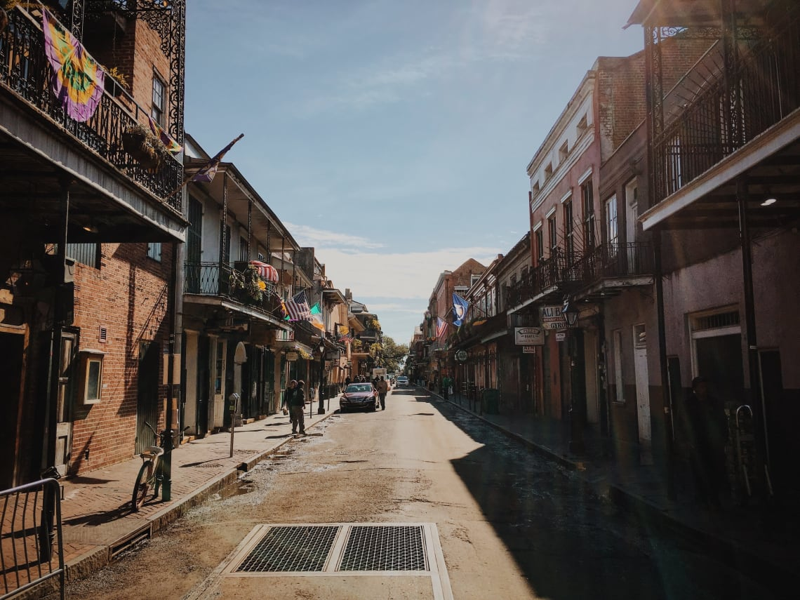 Top things to do in New Orleans during Mardi Gras: tour the French Quarter