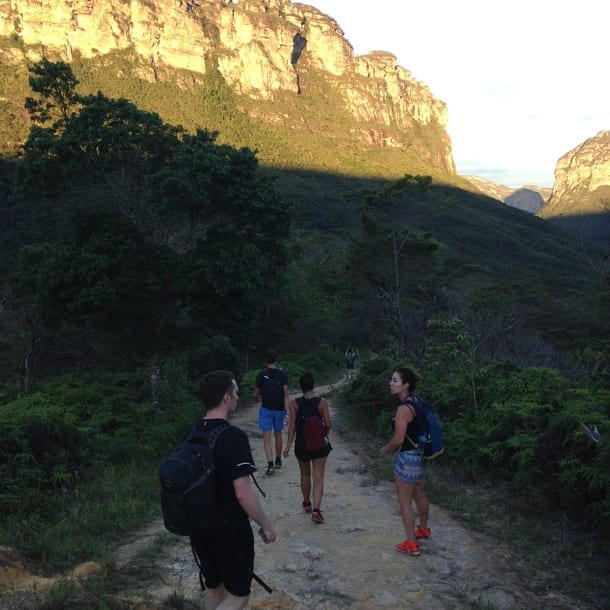 Trekking de três dias no Vale do Pati