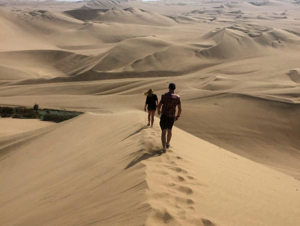 Huacachina Desert, Ica