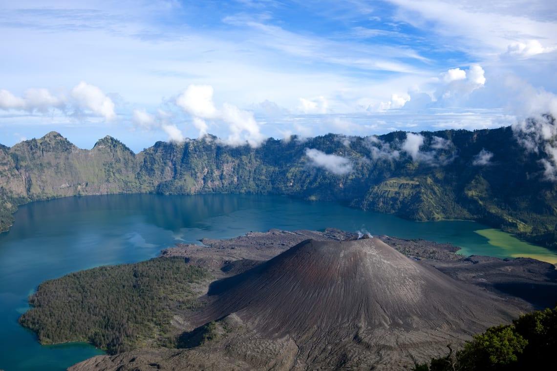 Montanhas na Ásia:Rinjani, Indonésia