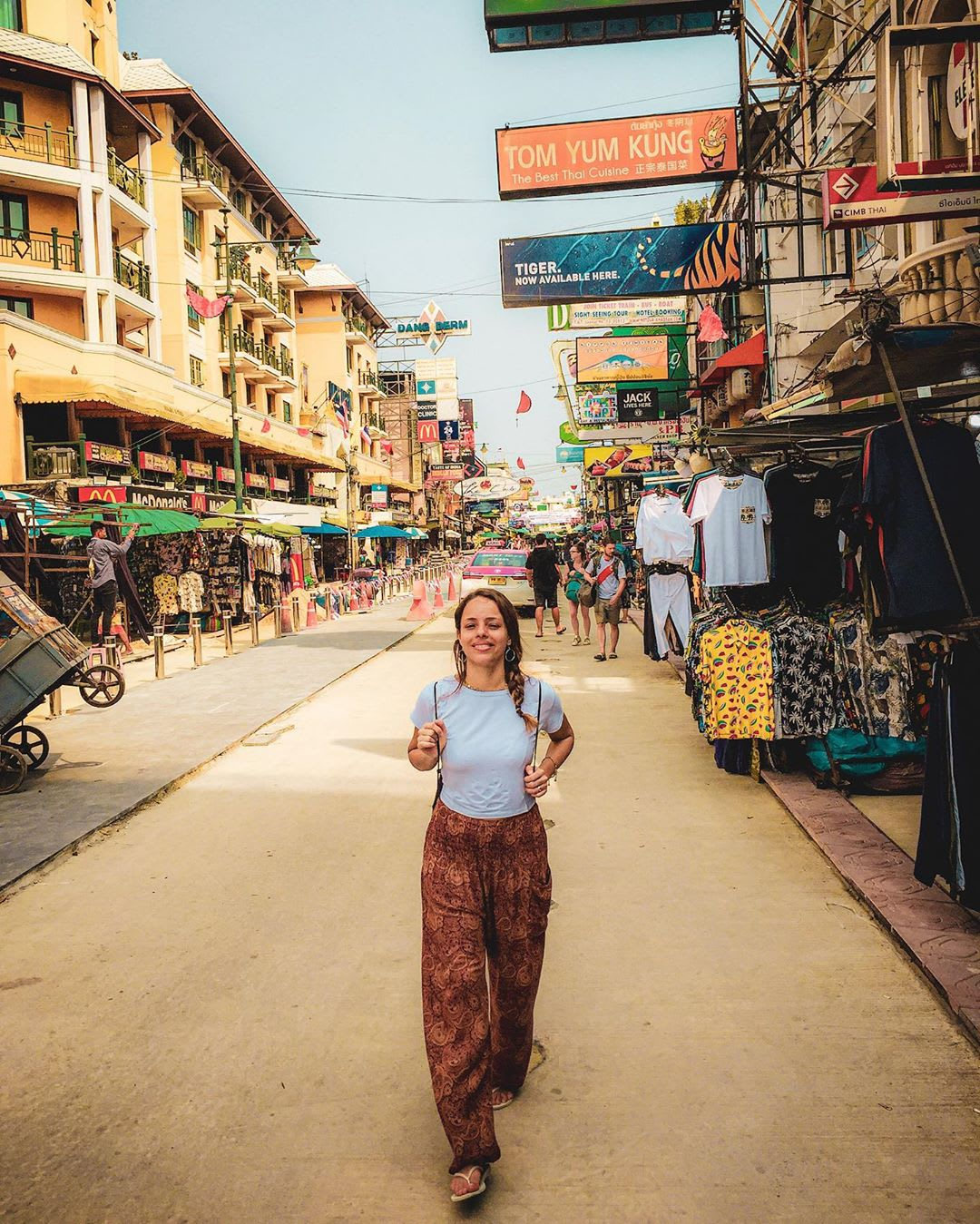 Lisiane Martins na Tailândia