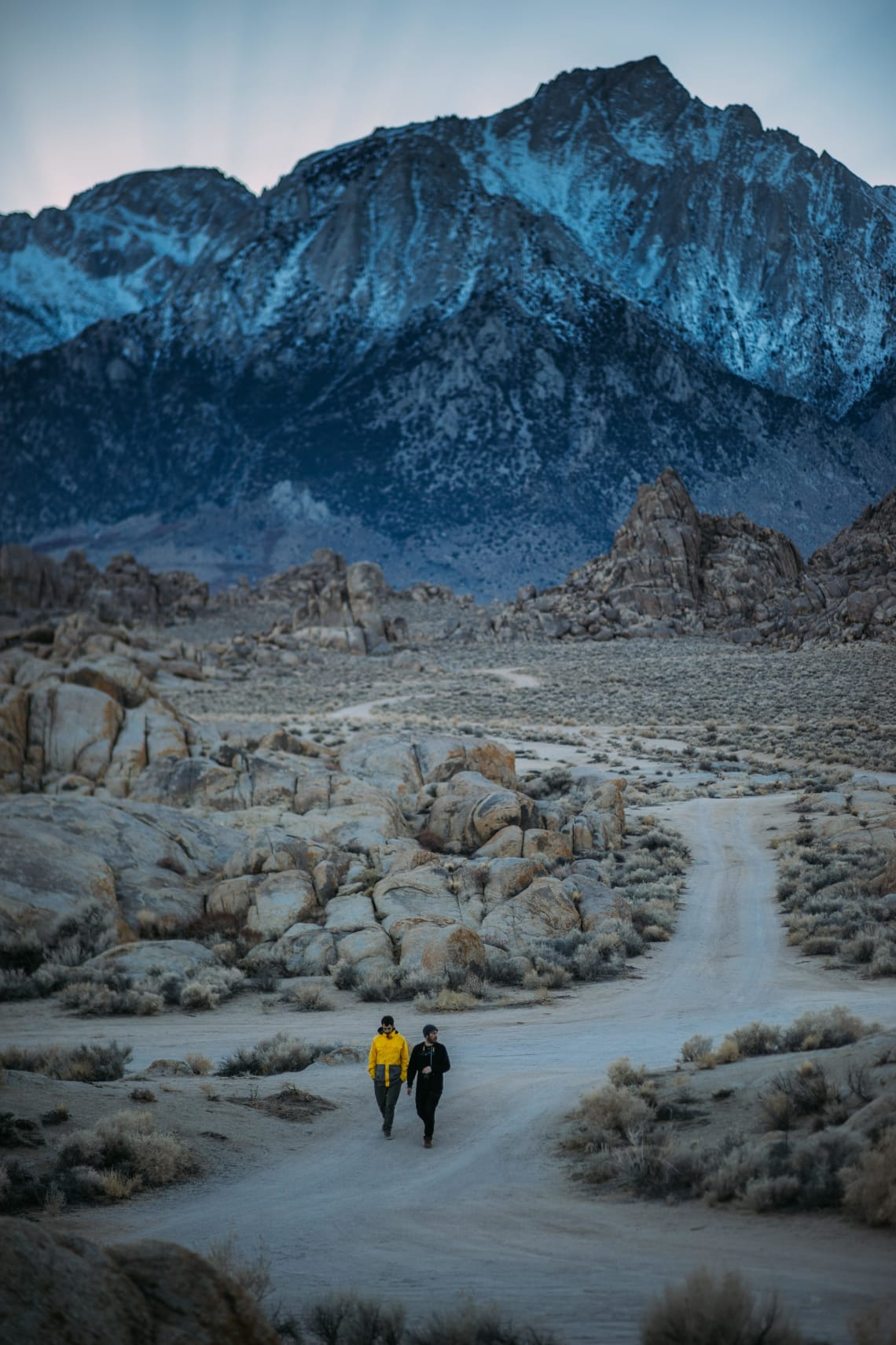 Hikers, Lone Pine, United States