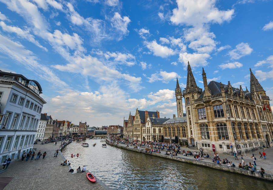 Tudo sobre a Bélgica: Ghent é uma pequena cidade que une construções antigas e modernas