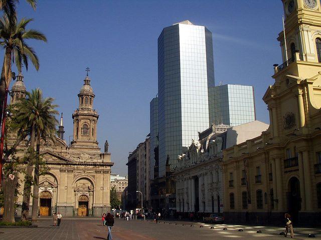 Guía para viajar barato en Santiago de Chile - Worldpackers - plaza de armas De Santiago de chile