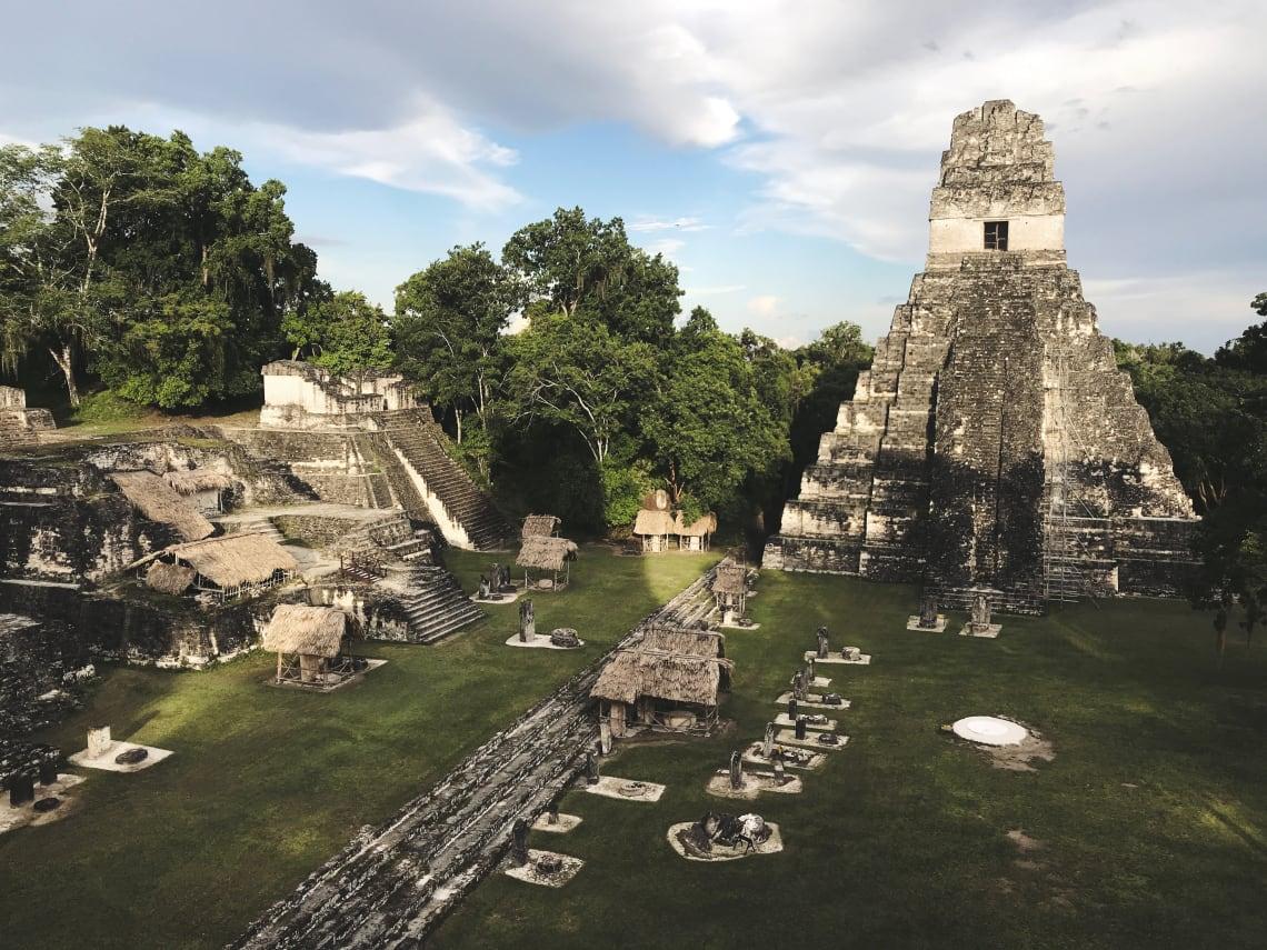 pirâmide principal de Tikal