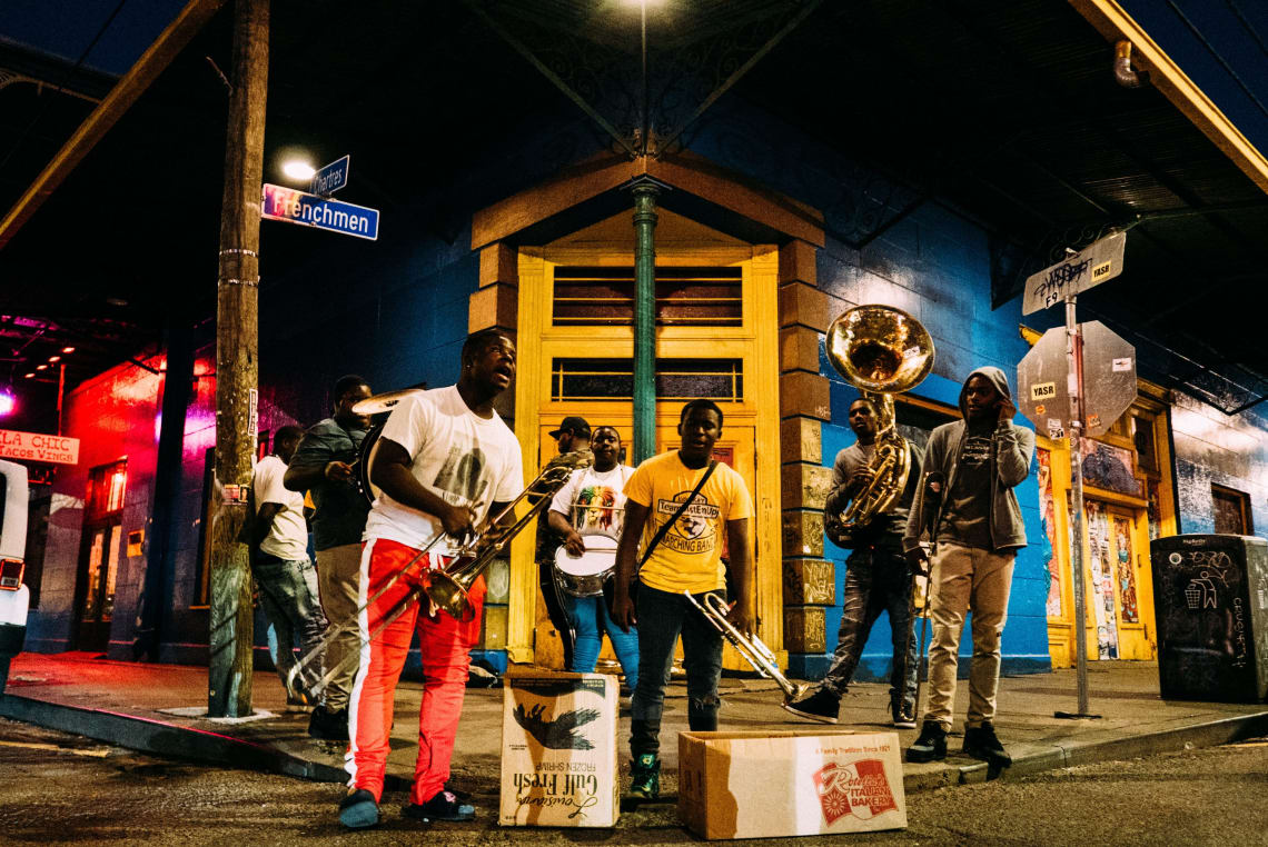 Frenchmen Street, New Orleans, Louisiana