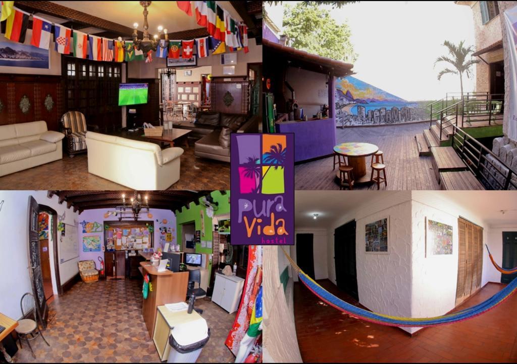 10 increíbles voluntariados en Sudamérica - Worldpackers - hostal Pura vida en Rio de Janeiro Brasil