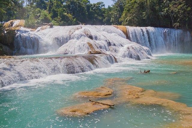 Cachoeira em Chiapas