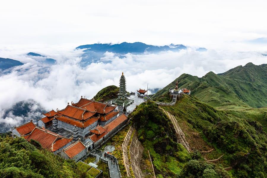 Montanhas na Ásia: Fansipan, Vietnã