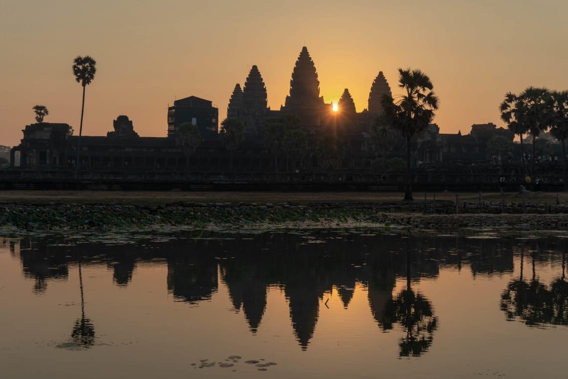 Hacer la ruta del Mekong: Laos, Camboya y Vietnam - Worldpackers - templos de Angkor