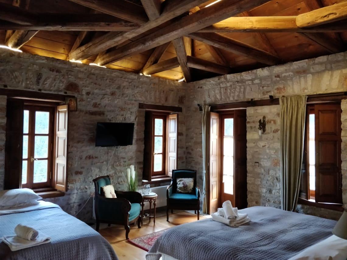 hostel shared room
