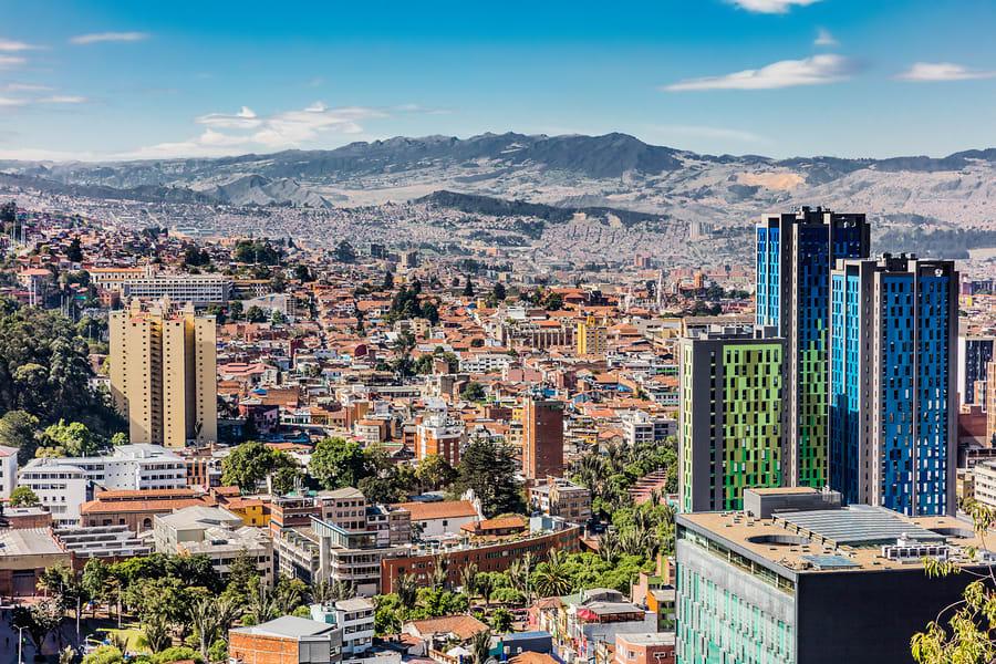 Lista de cidades na América do Sul que são boas e baratas para os nômades digitais: Bogotá