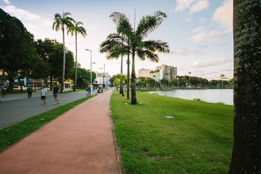 João Pessoa, na Paraíba, é conhecida como a capital verde.