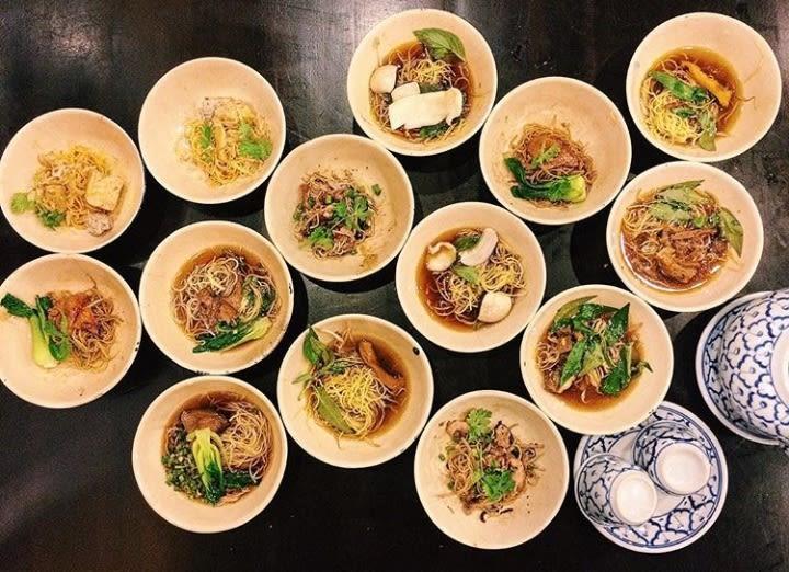 Pratos da comida asiática para provar: Pad Thai