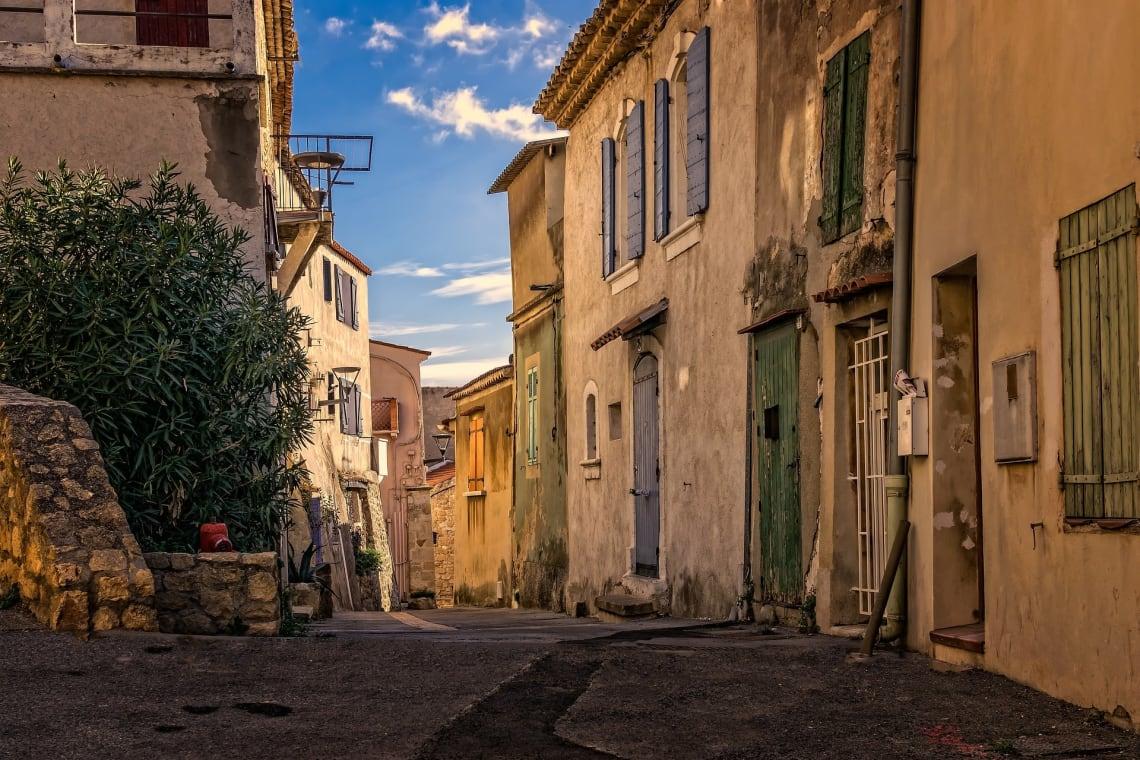 Beautiful alleyways.
