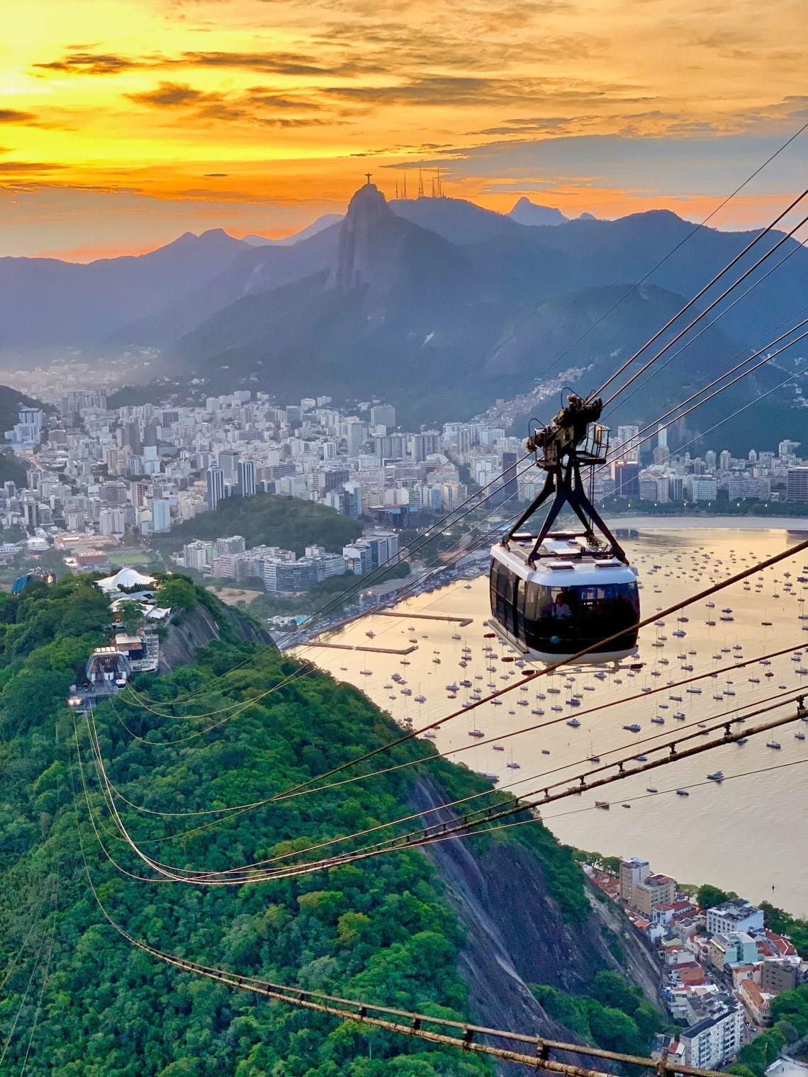 Bondinho do Pao de Acucar, Rio de Janeiro travel, Brazil