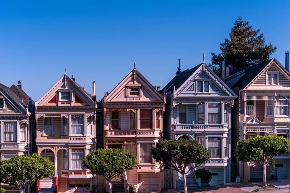 Beautiful homes, San Francisco, United States
