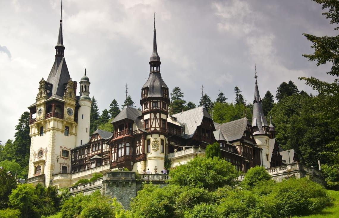 Viagem para a Romênia: Castelo Peles, Sinaia