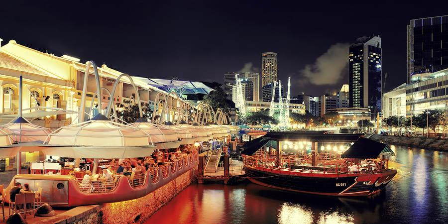 Em sua viagem pasa Singapura, conheça os bares sofisticados da região
