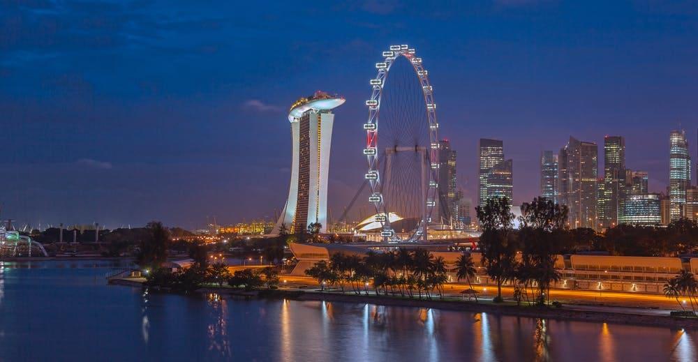 Mega guía para viajar a Singapur - Worldpackers- vista de la ciudad de Singapur