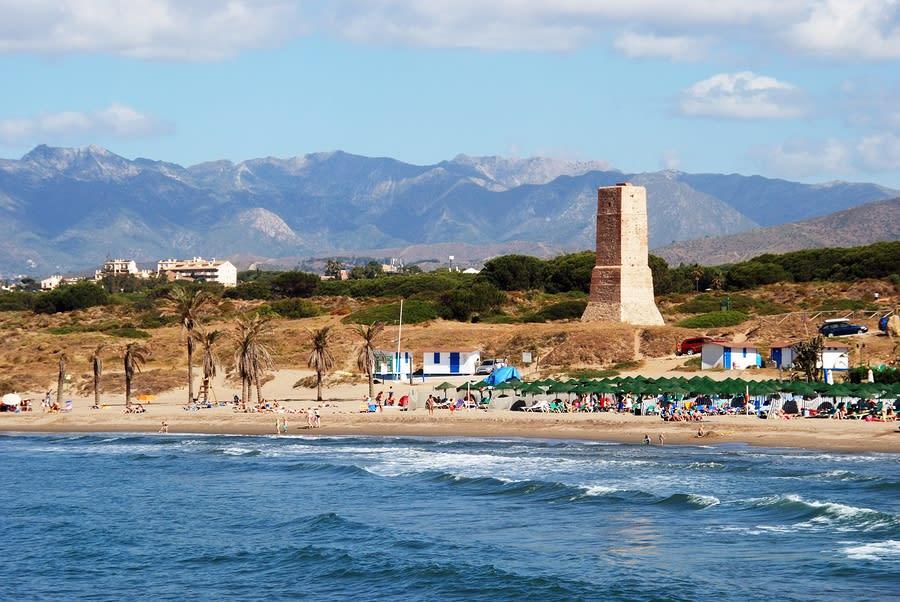 Cabopino Beach, Marbella, Espanha