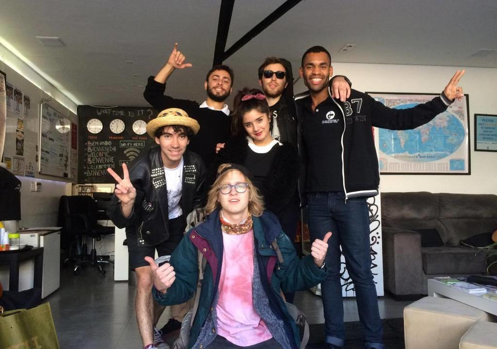 Los mejores anfitriones Worldpackers para voluntariar en el 2018 - Aki hostal - Sao Paulo