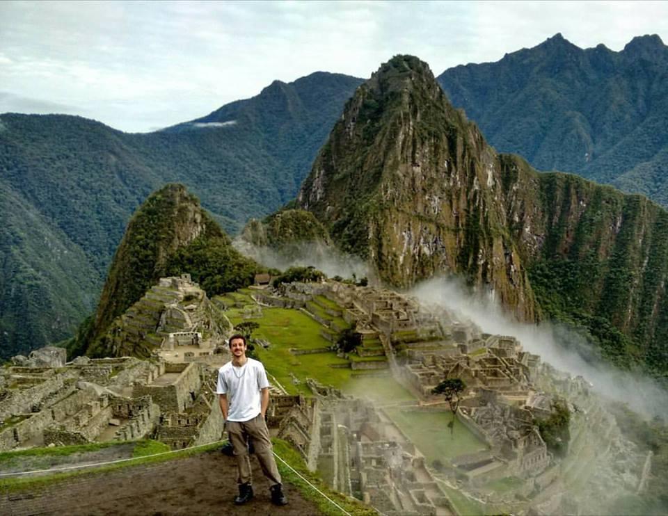 Glauber em Machu Picchu