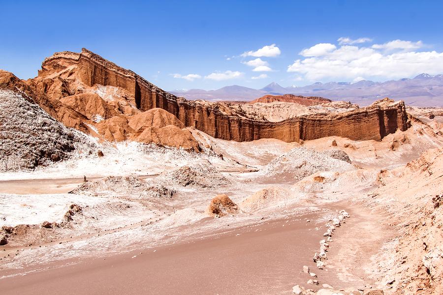 Valle de la Luna, Atacama, Chile.