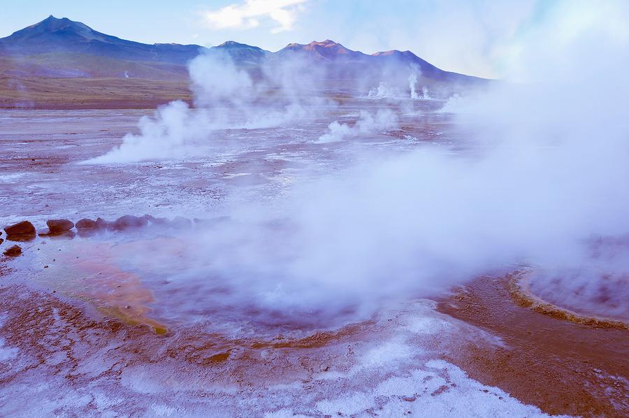 Geyser del Tatio, Atacama, Chile.