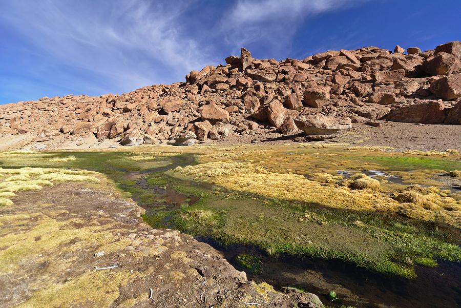 Thermas de Puritama, Atacama, Chile.