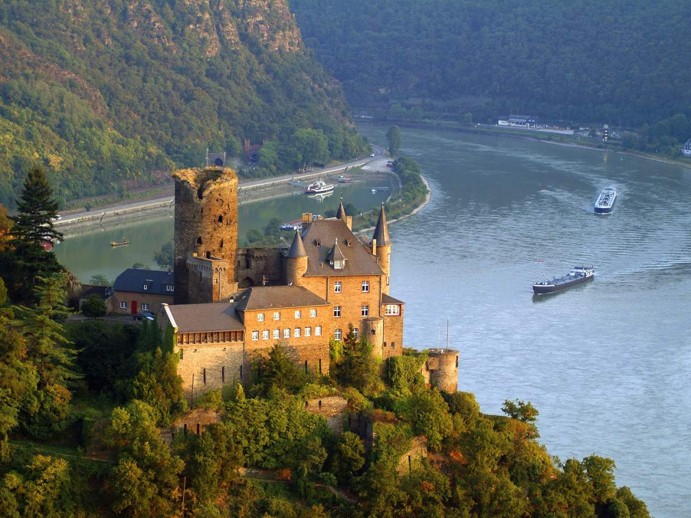 Cruise down the River Rhine
