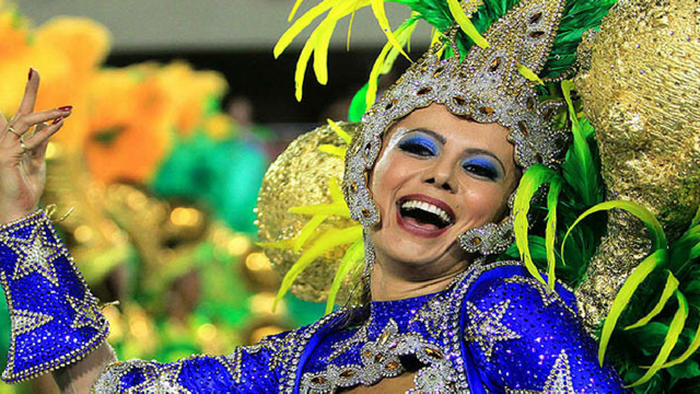 Brazil Samba Dance