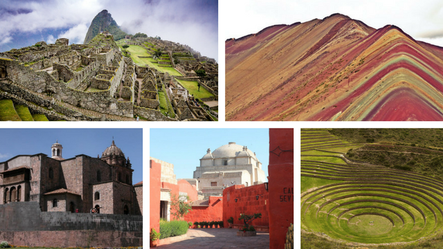 Peru Photo Collage