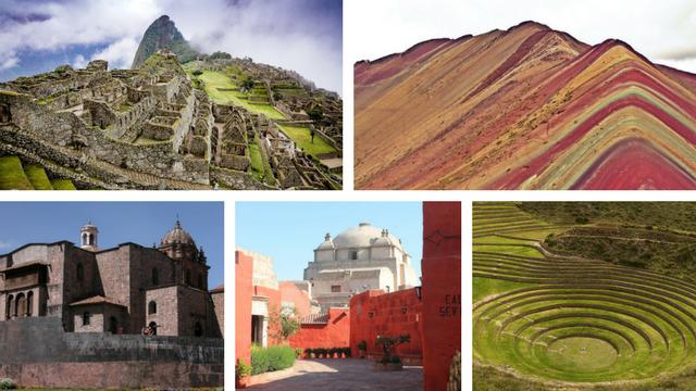 Peru Photo Collage