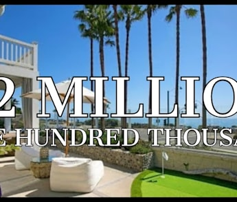 Carlsbad BEACHFRONT HOME with PUTTING GREEN and a DESIGNERS TOUCH!