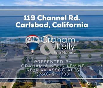 For Sale | 119 Channel Rd. Carlsbad, CA 92011 | Graham and Kelly Fine Homes | 760.421.1733
