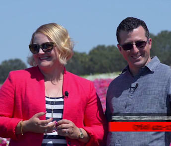 "Graham and Kelly Levine | Carlsbad Real Estate Agents on TV Show ""The Neighborhood"" 
