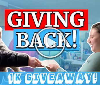 1k Giveaway - Chicago has given so much to us…? what an honor and privilege to give back ??