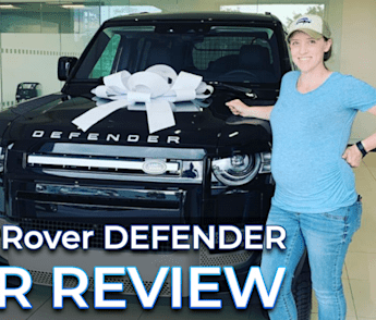My very professional review of the Land Rover Defender ? ⛰️ ⛺
