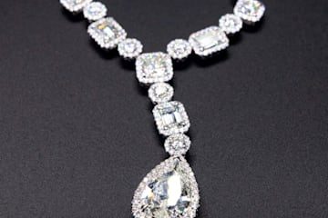 18kwg Diamond Necklace
